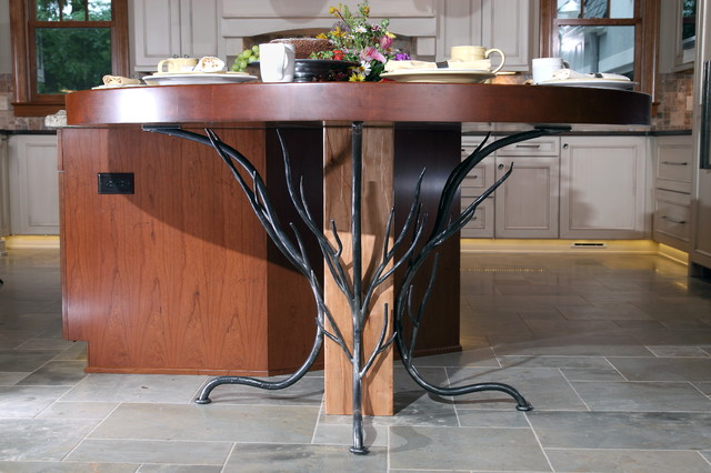 Historic renovation dining tables milwaukee by for Dining room tables milwaukee