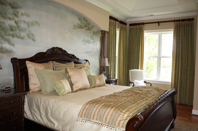 Master Bedroom Modern Window Treatments Charlotte