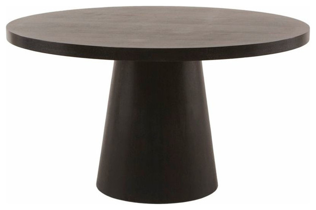 53 inch round pedestal dining table modern dining tables