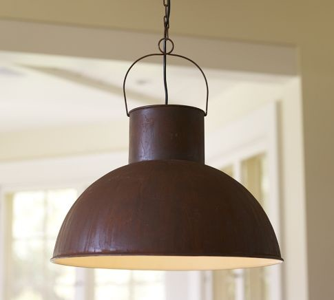 Mansfield Barn Industrial Pendant Traditional Pendant