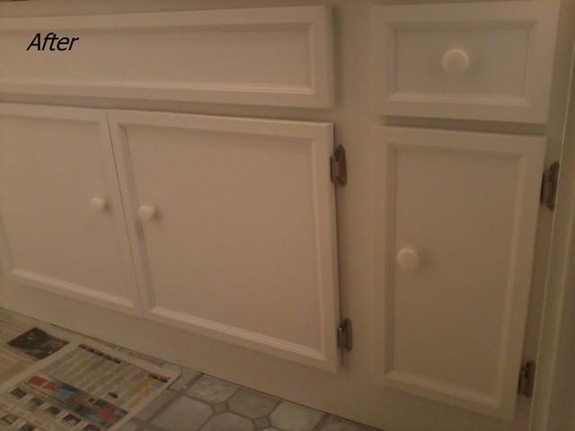 cabinet re facing kaneohe hi traditional bathroom