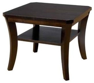 Urbane Bunching Table W Shelf Coffee Contemporary Coffee Tables By Shopladder