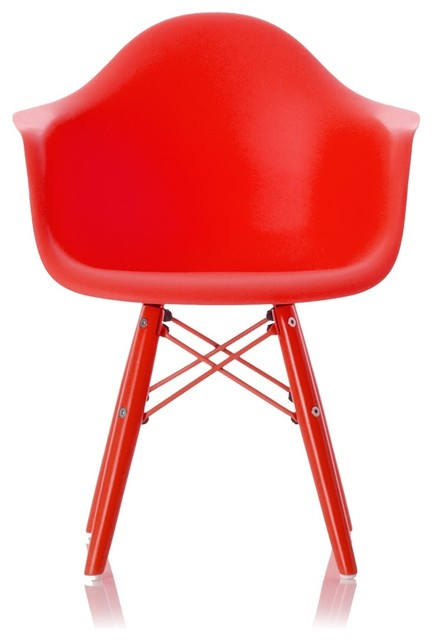 Childrens Bucket Chair Red Modern Kids Chairs By