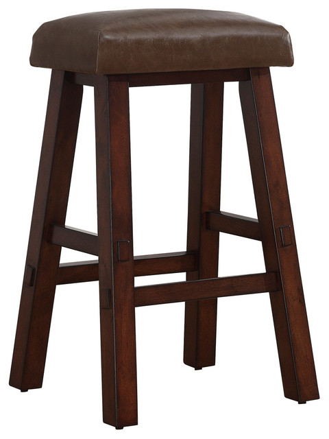 Counter Height Saddle Stools : ... Saddle Stool in Sepia - Bar Height traditional-bar-stools-and-counter