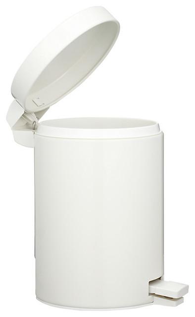 brabantia pedal bin white 3l modern kitchen bins. Black Bedroom Furniture Sets. Home Design Ideas