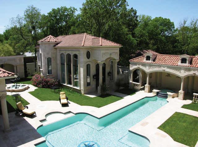 House Plan  quot Positano quot  DallasDesignGroup com   Mediterranean   Pool    House Plan  quot Positano quot  DallasDesignGroup com mediterranean pool