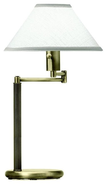 office collection transitional swing arm table lamp transitional table