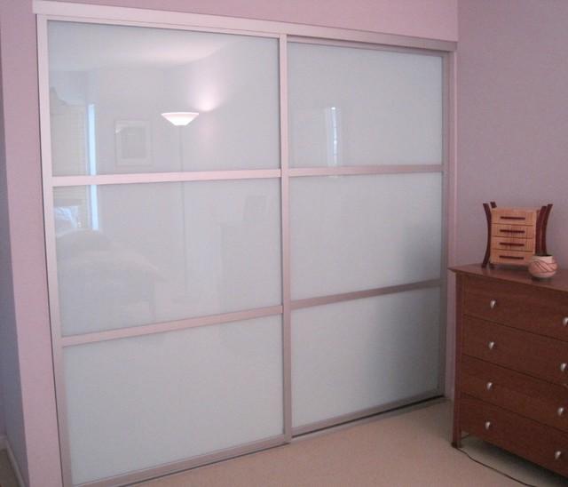 Sliding Glass Closet Doors The Sliding Door Company Modern Interior