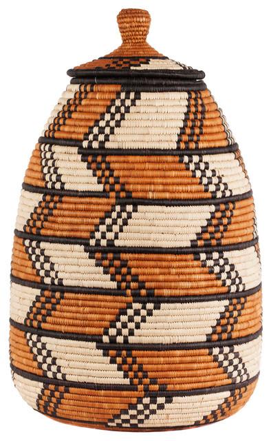 Basket Weaving London : Zulu basket traditional storage baskets