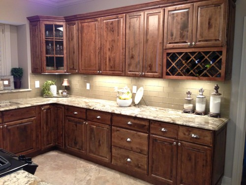Netuno Bordeaux Granite Countertop Design Ideas