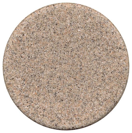 Tropitone Stoneworks Faux Granite Stone 30 Round Solid Table Top Traditiona