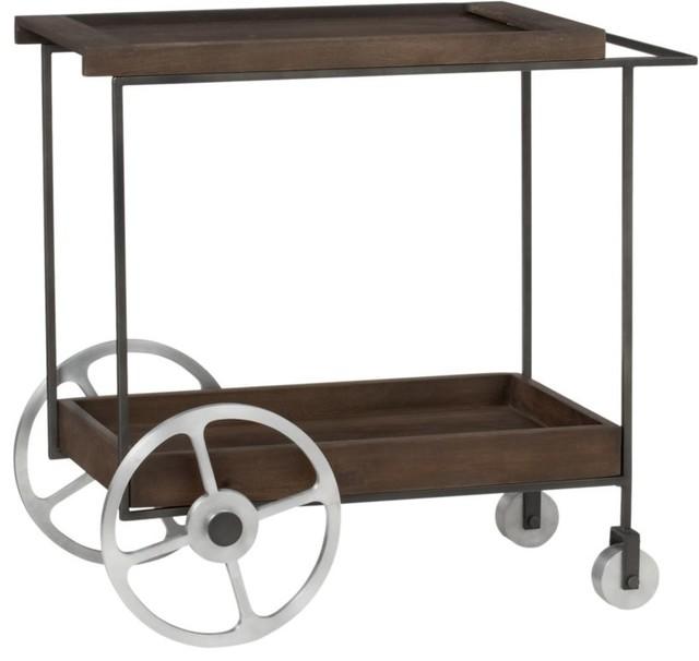 Porter Bar Cart Contemporary Bar Carts By Cb2