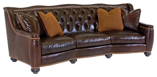 Classic leather furniture chelsea tight back sofa