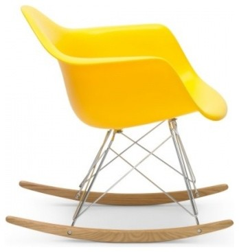 Eames Rocker Yellow by Rove Concepts modern-rocking-chairs
