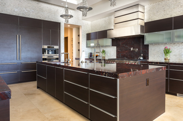 los angeles showroom modern kitchen other metro by