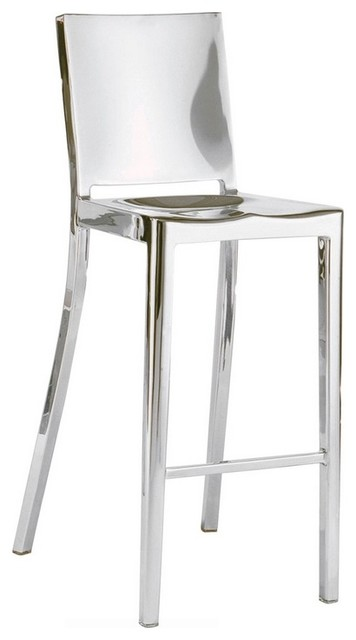 Modern Stainless Steel Stool Contemporary Bar Stools
