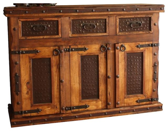 Hacienda Rustic Buffet - Rustic - Buffets And Sideboards