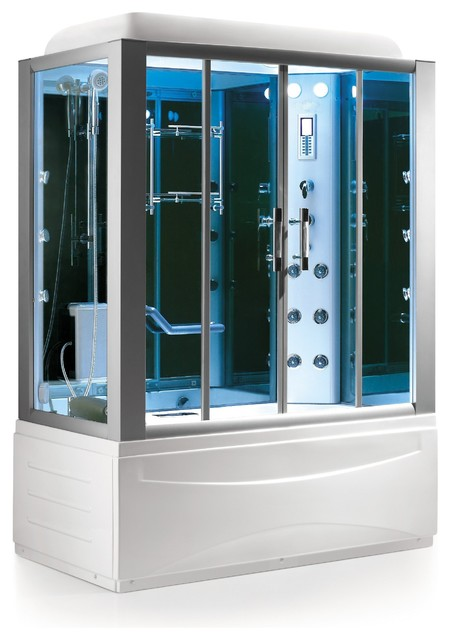 Essex luxury steam shower modern steam showers by aquapeutics llc - Luxury steam showers ...