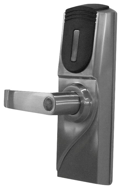 keyless electronic rfid door lock contemporary door entry sets by metechs global inc. Black Bedroom Furniture Sets. Home Design Ideas