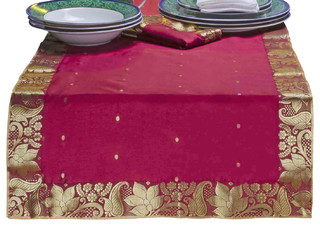 eclectic india runners.jpg table runners table
