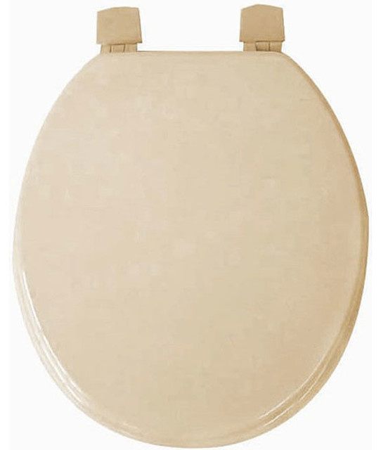 taupe molded wood solid toilet seat contemporary toilet seats by. Black Bedroom Furniture Sets. Home Design Ideas