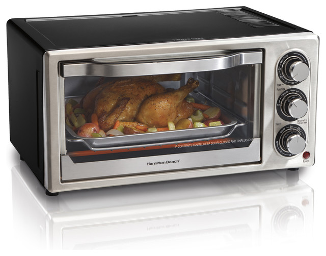Kitchen Living Countertop Convection Oven : ... Convection Toaster - Contemporary - Toaster Ovens - by Overstock.com