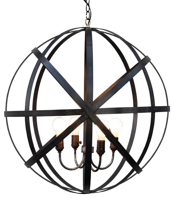 Metal round lantern moderne lanterne et lampe - Lanterne exterieure suspendue ...