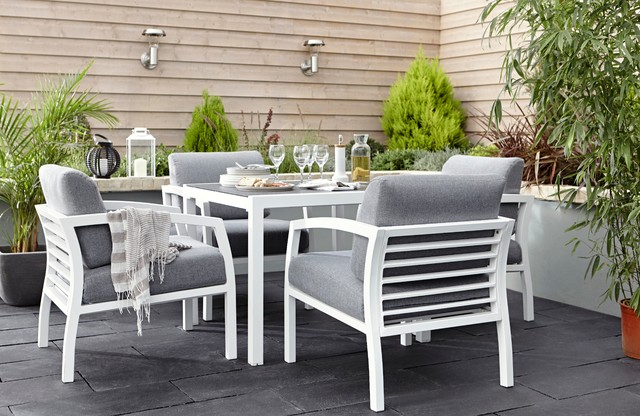 Sydney metal garden furniture contemporary outdoor for B q bedroom furniture sets