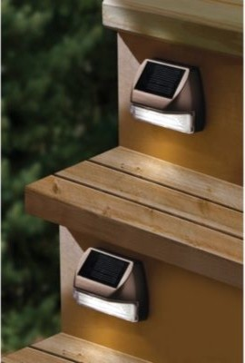 Lovely Moonrays Solar Mini Deck Step Light Contemporary Stair And Step Lights By  Bed Bath Beyond Solar Deck Lights For Steps