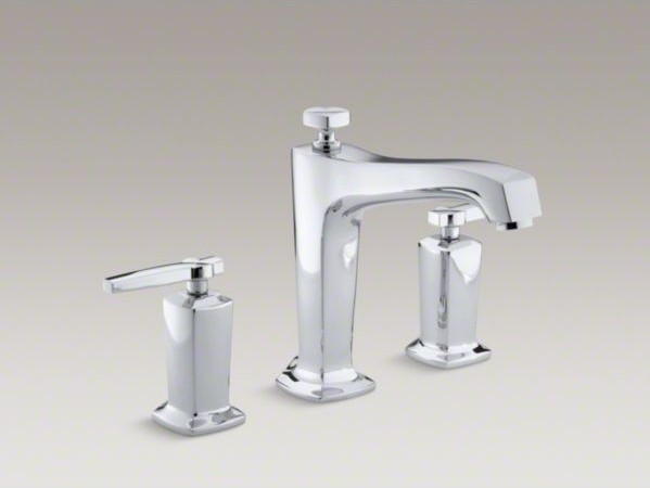 KOHLER Margaux R Deck Mount Bath Faucet Trim For High Flow Valve With Divert