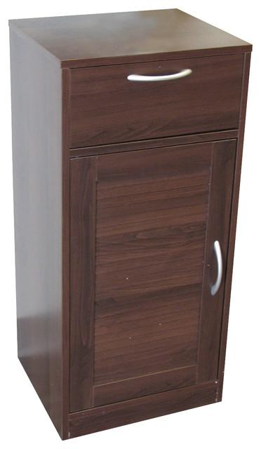 4d Concepts Bathroom 1louvered Door 1 Drawer Base Cabinet In Espresso Contemporary Bathroom