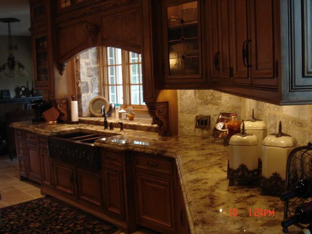 cleaning dark wood kitchen cabinets