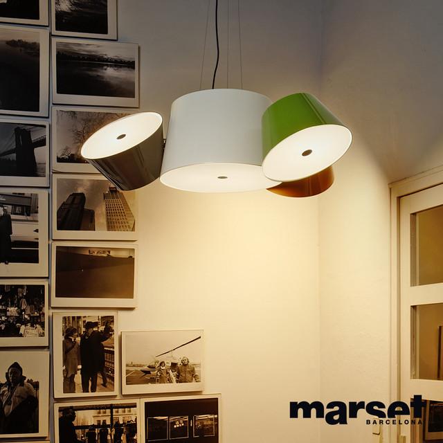 tam tam 3 marset modern chandeliers los angeles by metropolitandecor. Black Bedroom Furniture Sets. Home Design Ideas