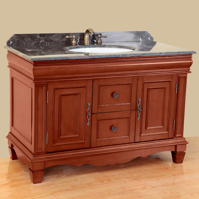 48 T 3603 Classic Single Vanity Antique Yellow Modern Bathroom Vanities And Sink Consoles