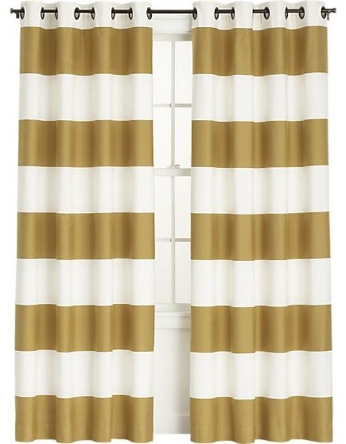 Gold And White Striped Curtains Gold and White Striped Dresses