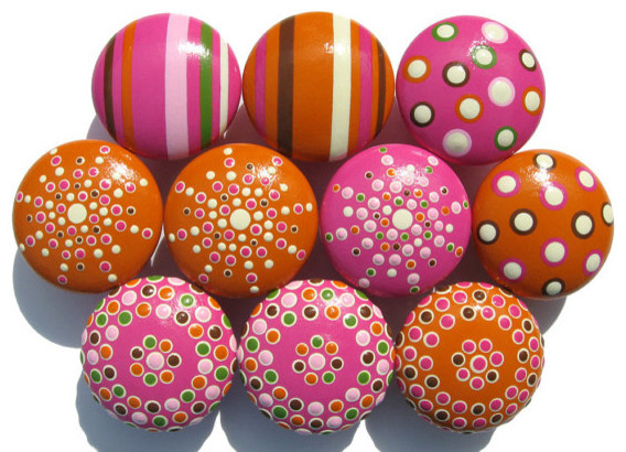 ... Knobs by Sweet Mix Creations contemporary-cabinet-and-drawer-knobs
