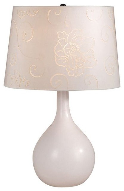 Laura Ashley Ceramic Wall Lights : Laura Ashley BTP412 Ava Ceramic Table Lamp Base Beige - Contemporary - Lamp Bases - by Lighting ...