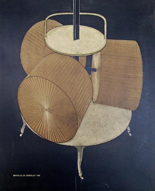 Marcel Duchamp Chocolate Grinder Print