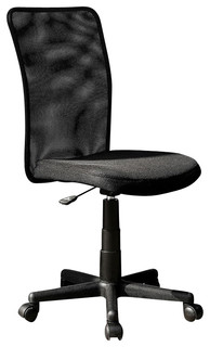 techni mobili executive 9300b mesh office chair in black. Black Bedroom Furniture Sets. Home Design Ideas