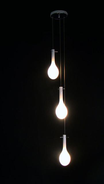 Modern Depolished Glass Pendant Lighting Contemporary Pendant Lighting