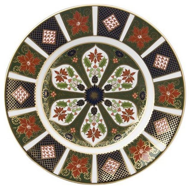 Imari Holiday 9 Plate Traditional Decorative Plates