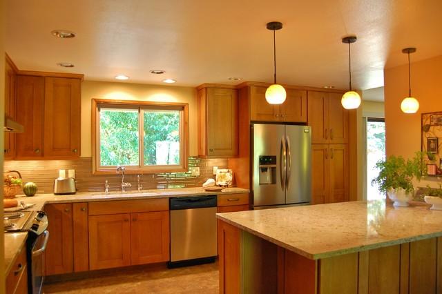 oregon city kitchen transitional kitchen portland by designer