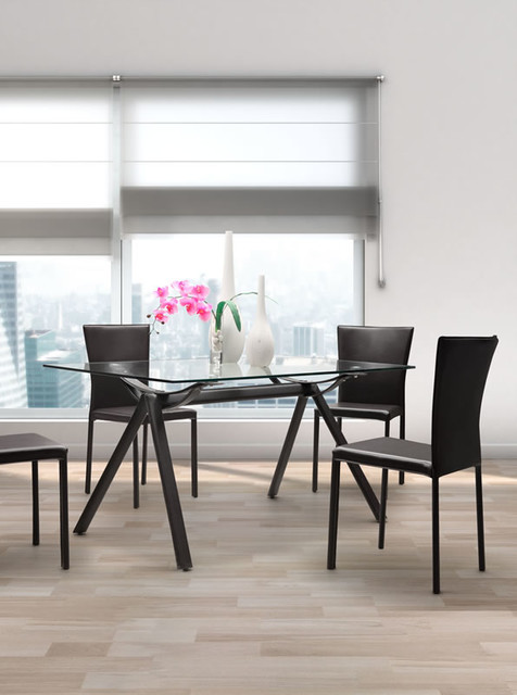 Vex Dining Table Modern Dining Tables Toronto By Lofty Ambitions Mo