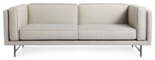 Blu dot bank 80 inch sofa modern sofas by for 80 inch couch