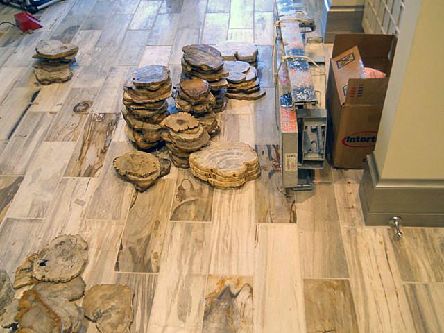 Petrified Wood Tile 6 Quot X18 Quot Park City Ut Contemporary