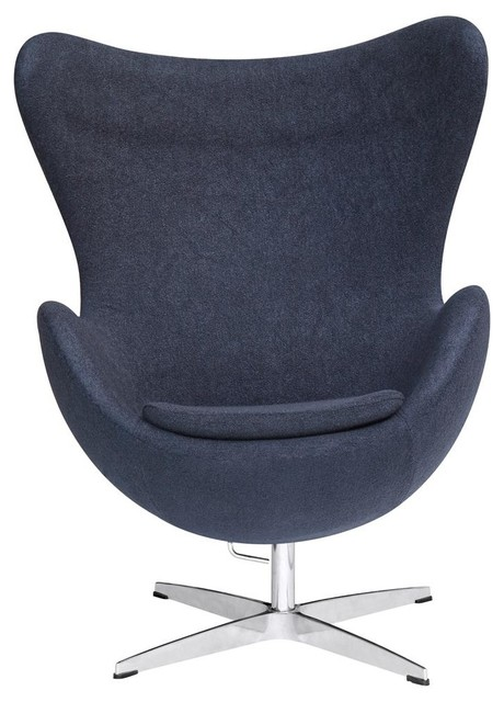 Inner Swivel Chair in Black Contemporary Armchairs And