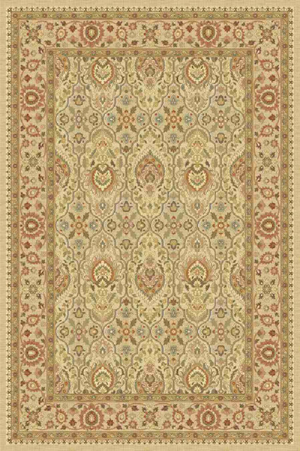 Momeni belmont be 05 ivory area rug 3 39 x6 39 traditional Belmont carpets and wood flooring