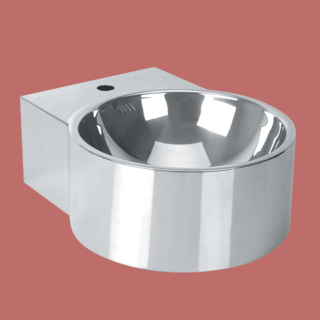 Stainless Vessel Sink : Vessel Sinks Stainless Steel Double Layer Vessel Sink Only ...