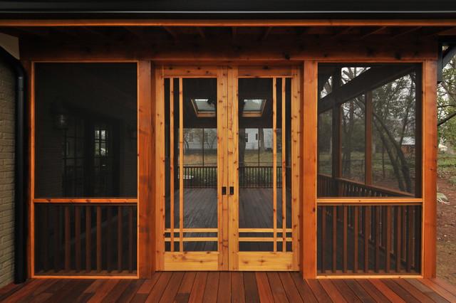 Craftsman Screen Porch - Craftsman - Atlanta - by Innovative Construction Inc.