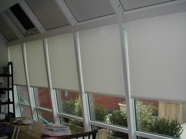 General Window Treatments Traditional Roller Shades